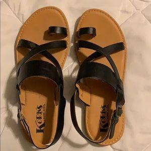 Korks strapping sandal